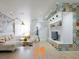 Xu hướng sử dụng gạch bông Đồng tâm cho ngôi nhà hiện đại