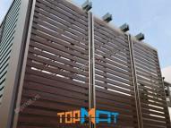 Lam chắn nắng giả gỗ Smartwood SCG Thái Lan