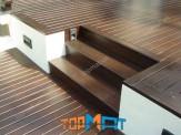 Sàn giả gỗ chịu nước ngoài trời Smartwood SCG Thái Lan