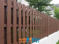 Hàng rào giả gỗ Smartwood SCG Thái Lan