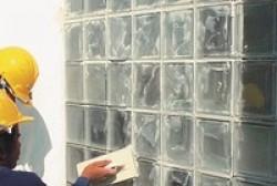 Kỹ thuật thi công gạch kính trang trí lấy sáng