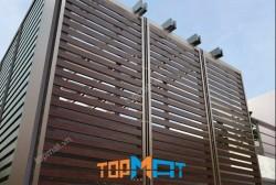 Phong cách mới lạ và độc đáo với lam chắn nắng giả gỗ Smartwood Thái Lan