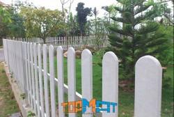 Hàng rào giả gỗ Smartwood Thái Lan và cách thi công đúng kỹ thuật