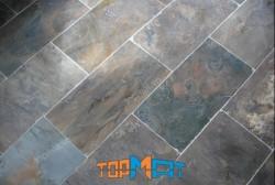 Đá slate đa sắc lát nền 20x40x(1-1.2)cm