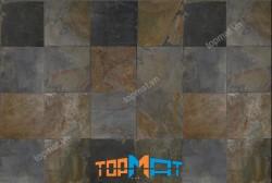 Đá slate đa sắc ốp tường 20x20x(0.5-0.7)cm