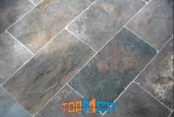 Đá slate đa sắc ốp tường 30x60x(0,5-0,7)cm
