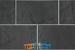 Đá slate đen vảy đồng Lai Châu 20x30x(1-1.2)cm