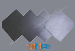Mái ngói Slate đen vuông 20x20x(0.2-0.4)cm - ĐS40