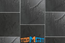 Đá Slate đen ốp tường xuất khẩu 200x200x(5-7)mm CF04