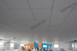 Thi công trần nhà từ tấm xi măng nhẹ Smartboard