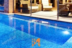 Gạch mosaic cao cấp - vât liệu ốp lát hoàn hảo cho mọi bể bơi