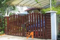 Cổng hàng rào gỗ Smartwood – Bền chắc theo thời gian