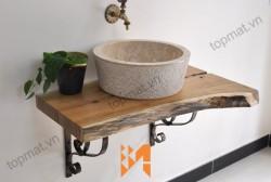 Vì sao bồn rửa mặt lavabo đá tự nhiên ngày càng được ưa chuộng