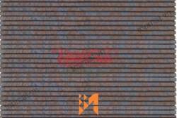 Gạch Vĩnh Cửu giả đá xếp Đồng Văn màu nâu cam VC35