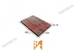 Gạch Vĩnh Cửu giả gỗ B11 góc nghiêng ốp tường VC39