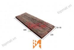 Gạch Vĩnh Cửu giả gỗ B12 góc nghiêng ốp tường VC38