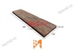 Gạch Vĩnh Cửu giả gỗ B13 góc nghiêng ốp tường VC37