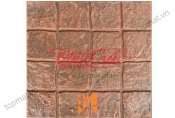 Gạch giả đá cubic đỏ gạch Vĩnh Cửu VC121