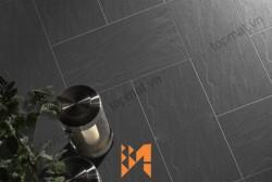 Đá slate đen Lai Châu 15x30x(1-1.5)cm