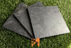 Đá slate ghi ốp tường 40x40x(0.5-0.7)cm
