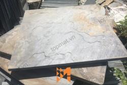 Đá slate đa sắc ốp tường 40x40x(0.5-0.7)cm