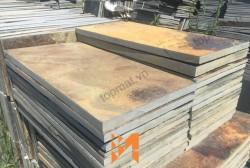 Đá slate đa sắc ốp tường 25x50x(0.5-0.7)cm