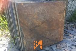 Đá slate đa sắc lát nền 60x60x(1.2-1.4)cm