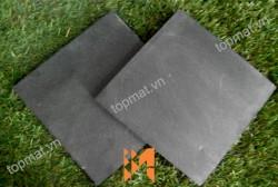 Đá ốp Slate đen xuất khẩu 150x150x(5-7)mm CF02