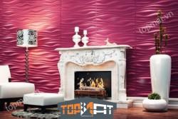 Tấm ốp tường 3D PVC INREDA