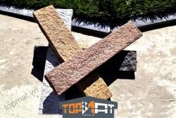 Đá cubic granite cột rào 8x20x75cm