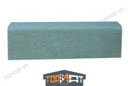 Đá xanh rêu bó vỉa bo cạnh 18x22x100cm