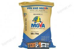Vữa khô Mova WP 900 Clair mác 75 chuyên dụng cho tường, gạch bê tông nhẹ