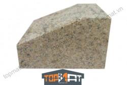 Đá bó vỉa granite vàng Bình Định