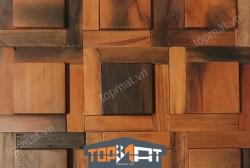 Tấm ốp tường gỗ tàu biển Ecoteak ET10-01