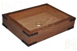 Lavabo bằng gỗ sồi WDE81