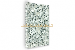 Đá granite trắng Suối Lau mặt mài 30x30x2cm