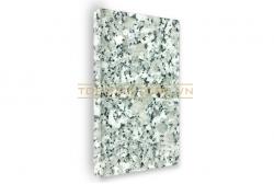 Đá granite trắng Suối Lau mặt mài 40x40x2cm