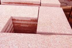 Đá granite đỏ Bình Định khò lửa 30x60x2cm