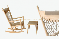 Ghế PP124 Rockig chair