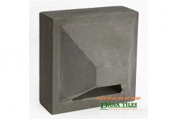 Gạch bánh ú xi măng đen Danatiles BU-01