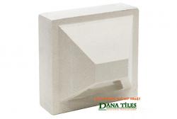 Gạch bông gió bánh ú Danatiles BU-01 trắng