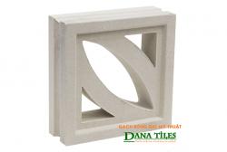 Gạch bông gió Danatiles D-01 trắng