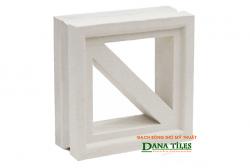 Gạch bông gió Danatiles D-011 trắng