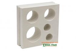 Gạch bông gió Danatiles D-05 trắng