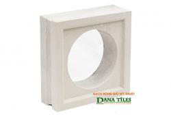 Gạch bông gió Danatiles D-06 trắng