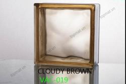 Gạch kính Cloudy Brown – Vân nâu 019