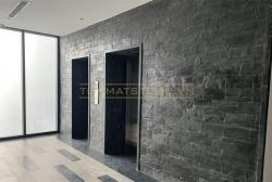 Đá slate ốp tường - Sử dụng đúng cách đá slate đen Lai Châu đem lại hiệu quả thẩm mỹ cho công trình