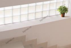 Gạch kính lấy sáng cầu thang - Những thiết kế cho không gian hiện đại
