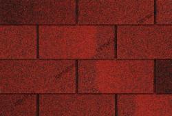 Ngói bitum phủ đá đồng phẳng màu đỏ Cana