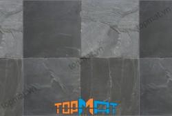 Đá slate đen vảy đồng Lai Châu 20x20x(1-1.2)cm